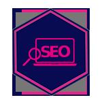 Pure Marketing Small Business SEO - BLUE- Icon